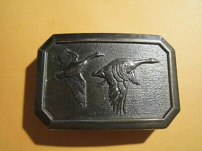 The Great American Buckle Co Goose  Hunting Belt Buckle