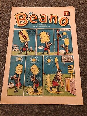 The Beano. No 1416. 6 Sept 1969