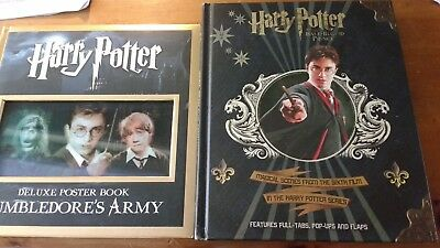 Harry Potter Dumbledore's Army Poster Book & Half Blood Prince Pop Up