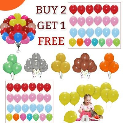 30 X Large PLAIN BALOONS BALLONS helium BALLOONS for Birthday and wedding new