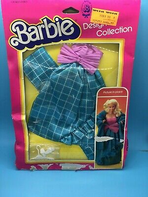 1983 #7083 Picture in Plaid Designer Collection Barbie doll outfit NRFB