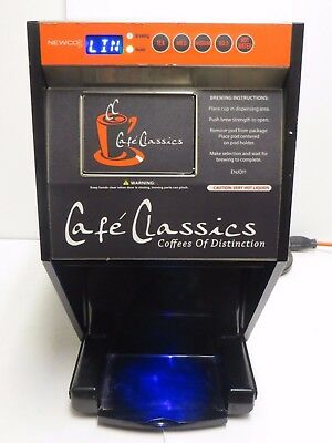 Newco Cafe Classics Single Brew Coffee Pod Machine FKP-1