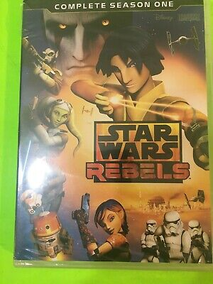Star Wars Rebels: Complete Season 1 (DVD, 2015, 3-Disc Set FAST SHIPPING ..
