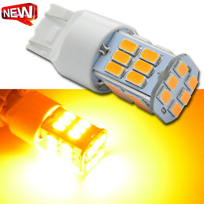 4 X T20 7440 7443 Led Amber Indicator Turn Signal Car Light Bulb Globe 12V / 24V