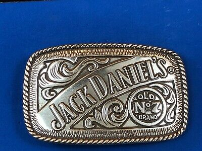 Vintage Jack Daniels Belt Buckle Old Number 7 brand Whiskey  2005