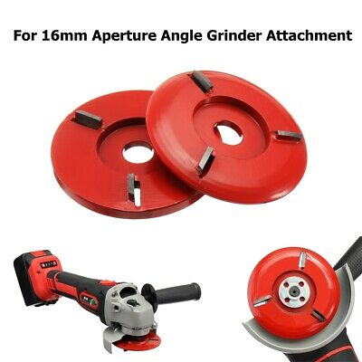 90MM Woodworking Turbo Plane For 16mm Aperture Angle Grinder Wood Carving Blade