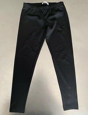 Skinny-Fit Ponte Knit Metallic Pants Medium 7-16 Epic Threads Big Girls