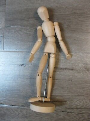 New!  Artist's Natural Wooden Figure With Movable Parts