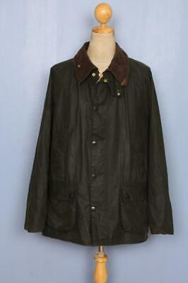BARBOUR Bedale Waxed Jacket Green Size 48 XLarge