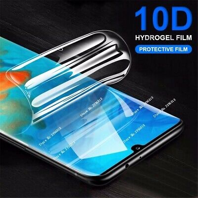 Soft Crystal Full Cover 10D Hydrogel Screen Protector Film For Huawei P30 /ma