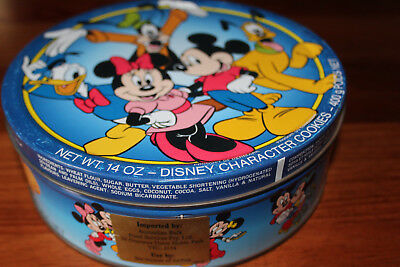 REDUCED. Disney Characters Biscuit/Cookie Tin.  Circa 1992