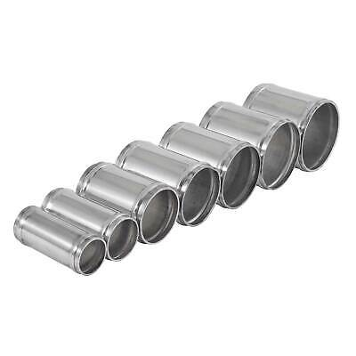 NEW ALLOY ALUMINIUM Bends Pipe Polished Metal Joiner Connector Air