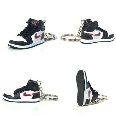 new products 7bc89 7c8af madxo   3D mini sneaker keychain Air Jordan 1 SPORTS ILLUSTRATED MICHAEL  05-69