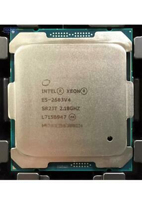 Intel Xeon E5-2683 V4 2.10GHZ 16 CORE CPU PROCESSOR SR2JT 40MB 32 THREADS