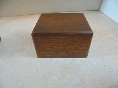 Small vintage wooden trinket box, crafts stationery jewellery