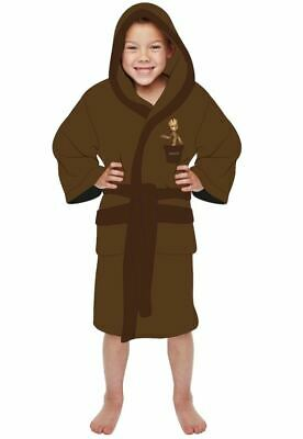 Gaurdians Of The Galaxy Groot Childs Age 7 - 9 Years Dressing Gown Bathrobe