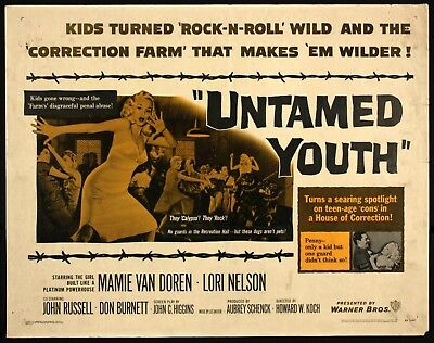 untamed youth dvd