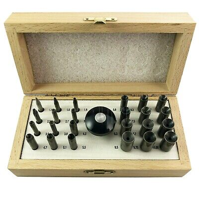 Jewellers Craft 24 Round Bezel Punch Set Stone Setting Ring Setting Jeweler Tool