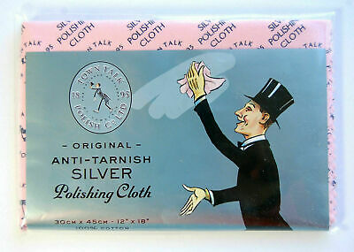 Town Talk Silver Jewellery Polishing Cloth  - Different sizes