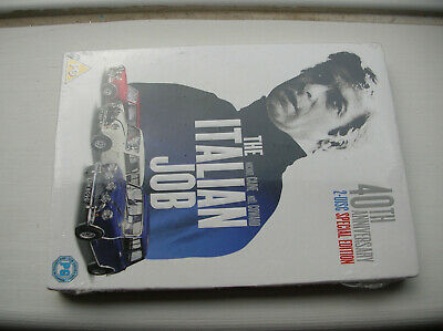 sealed The Italian Job 40th Anniversary 2 Disc Spec Edn UK R2  DVD Michael Caine