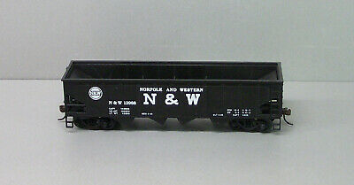 Bachmann HO Train Coal Car - Norfolk and Western Hopper Car