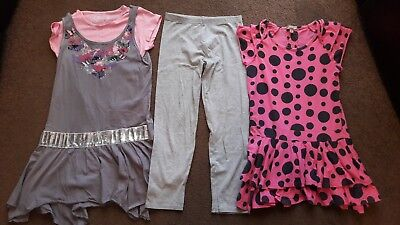 Girls Matalan Top And Leggings Set and Marks and Spencer Top 9-10 Years