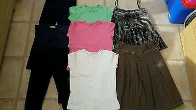 Lovely Girls Clothes Bundle 6-7 Years inc Next Leggings Fat Face Skirt