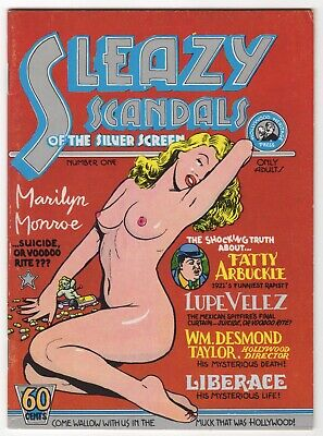 Sleazy Scandals of the Silver Screen (Cartoonists Co-op Press 1974)  VFN    Rare