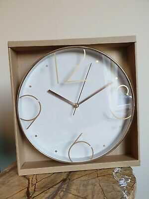 Contemporary Hometime Wall Clock - NewAvailable in:• Rose Gold• Black