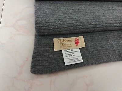 Made in Scotland 5 ply  Thick 100% LAMBSWOOL Baby Blanket / Throw