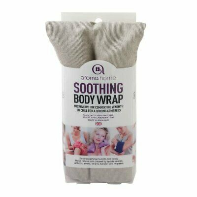 Aroma Home Hot and Cold Soothing Body Wrap Grey - Soothing Relaxing Therapy
