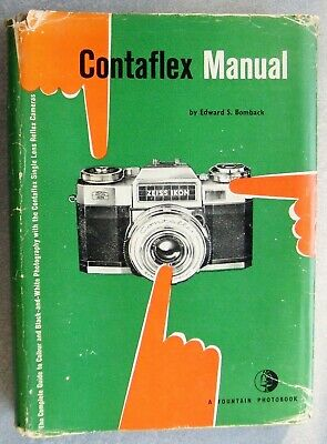 THE CONTAFLEX MANUAL by EDWARD S. BOMBACK