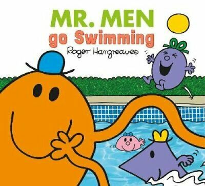 Mr. Men go Swimming 9781405290777 | Brand New | Free UK Shipping