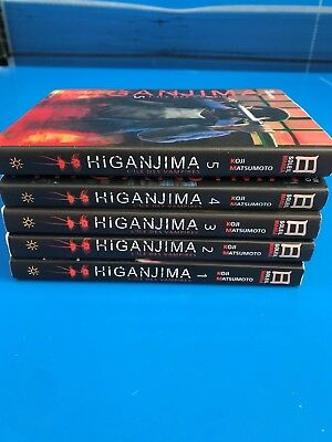 Lot Mangas Higanjima - 7 Titles in 1 to 5 a Complete - Koji Matsumoto