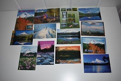 OREGON POSTCARDS LOT Mount Hood Waterfall Mountain Book Post Card Unposted New