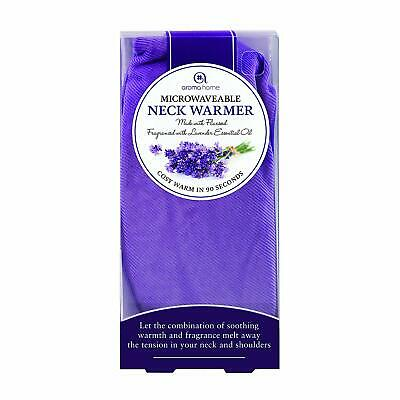 Aroma Home Lavender Microwaveable Neck Warmer -  Soothing Relaxing Shoulders