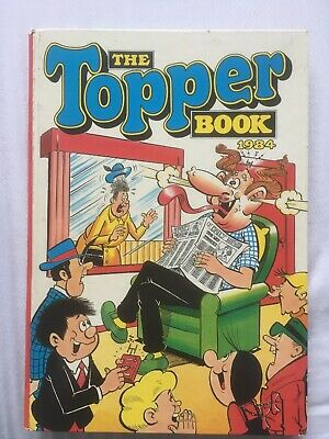 The TOPPER Book Annual 1984 *** UNCLIPPED ***