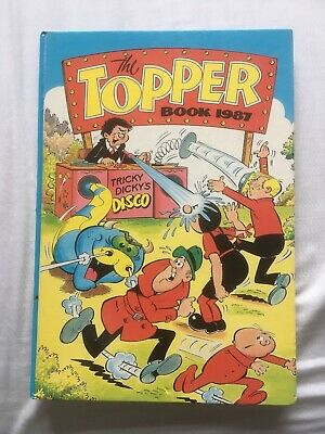 The Topper Book Annual 1987 in Excellent condition *** Unclipped ***