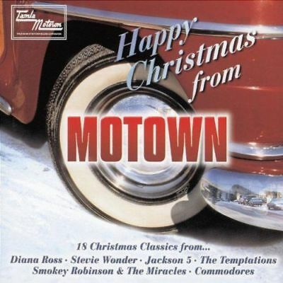 Happy Christmas From Motown CD - 18 Christmas Classics - various artists