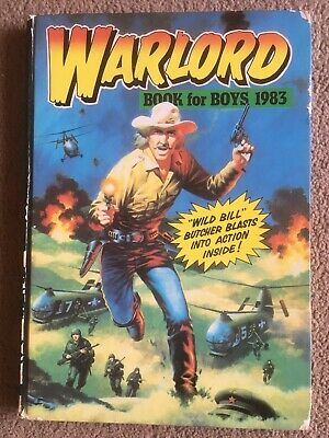 Warlord For Boys 1983 *** Unclipped ***