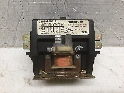 Products Unlimited 3100-20U6161 2 Pole Contactor