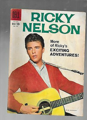 Ricky Nelson four-color 998 1959 DELL good - very good 3.0