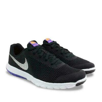 a4145c0da7c4a Nike Flex Experience 5 (GS) Youth Girls Running Shoes 844995 010 Black  Violet