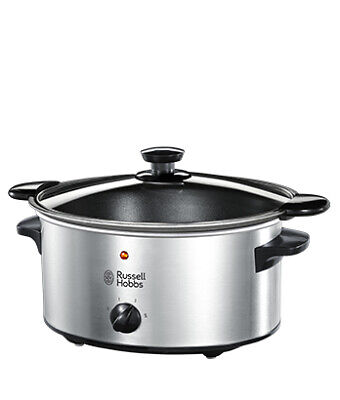 Russell Hobbs 22740-56 slow cooker 3.5 L Black,Silver Searing Slow Cooker