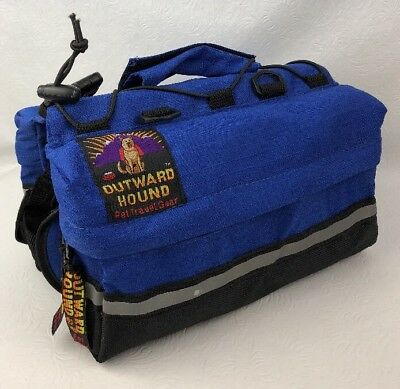 Outward Hound Dog Backpack Saddlebag Style Quick Release Pets Carry Their Gear M