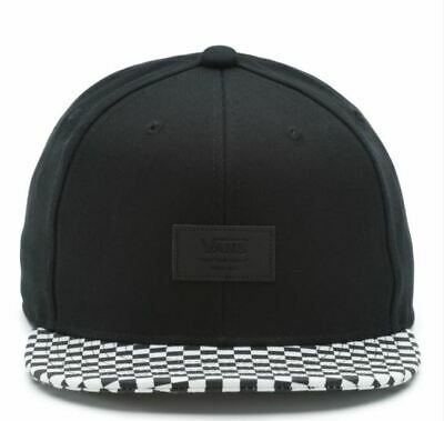 3f8739fc6ce17 Cappellino Vans Snapback Allover It Black/White Check Nero scacchi Unisex