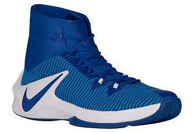 Men's Nike Zoom Clear Out TB Basketball Shoes 844372-444 Blue/White NEW Size 14