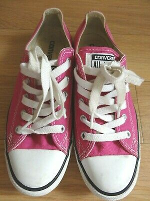 b7d4c0363301 Converse Trainers Shoes Size Uk 5 Eu 38 Pink Dainty Ladies Girls Casual