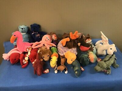 4fcd73cb70b Ty Beanie Babies Huge Lot Amazing Condition W  Tags Some w  errors!