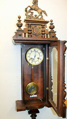 Antique Wall Clock Vienna Regulator 19th century * JUNGHANS*
